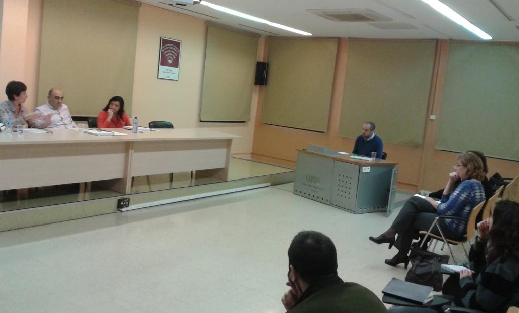 Defensa tesis Julián Sanmartín // Foto: Marta Civil