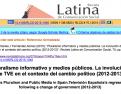 Involución TVE. Revista Latina