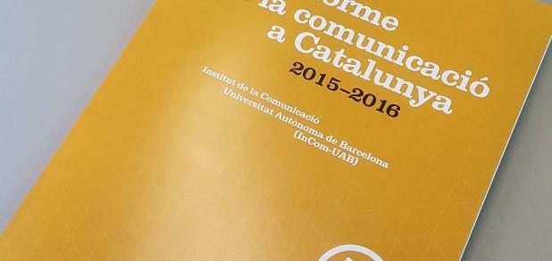 Informe de la Comunicació a Catalunya 2015-2016