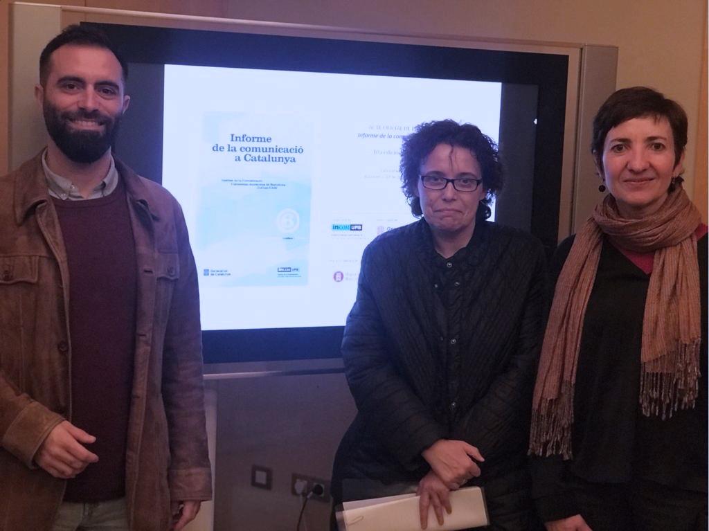 Marc Espín, Isabel Fernández Alonso y Mercè Díez